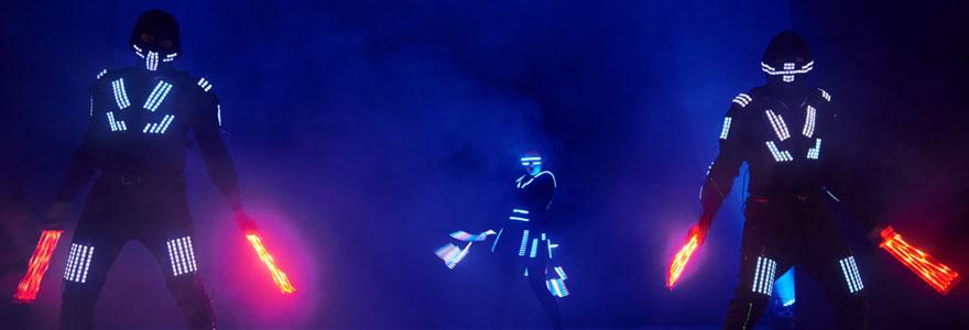 Découvrez le robot LED